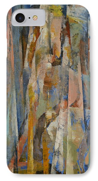 Wild Horses Abstract IPhone Case