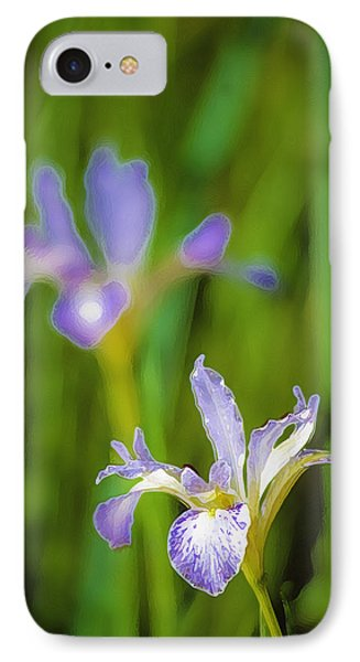 Wild Iris 2 IPhone Case