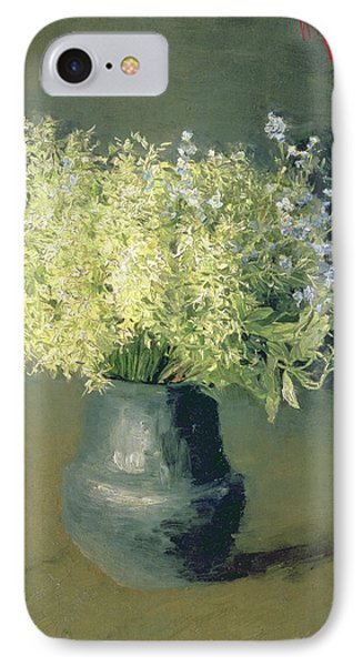 Wild Lilacs And Forget Me Nots Phone Case by Isaak Ilyich Levitan