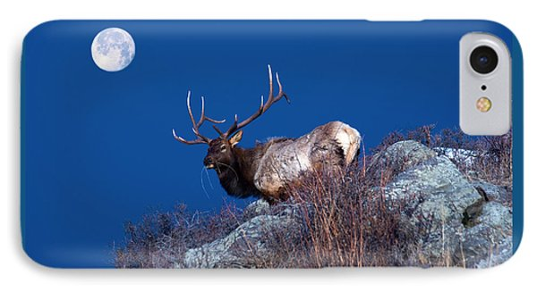 Wild Moon IPhone Case by Shane Bechler