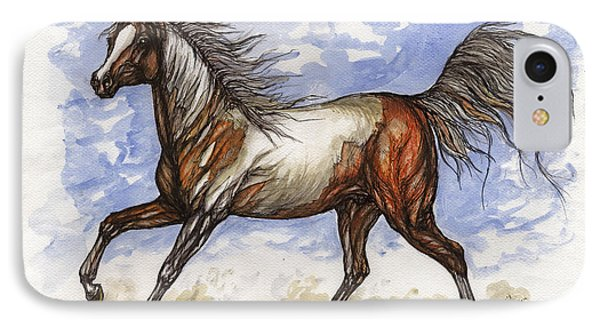 Wild Mustang Phone Case by Angel  Tarantella