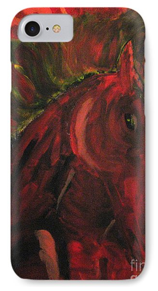 Wild N' Free IPhone Case by Wendy Coulson