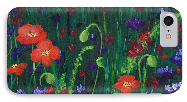 Wild Poppies IPhone Case