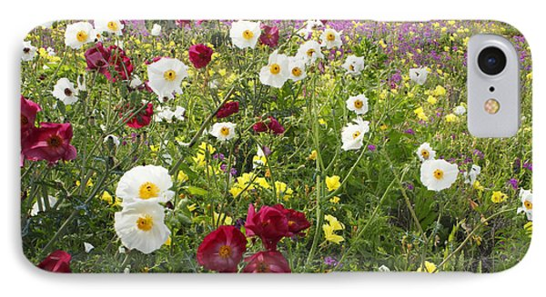 Wild Poppies South Texas IPhone Case