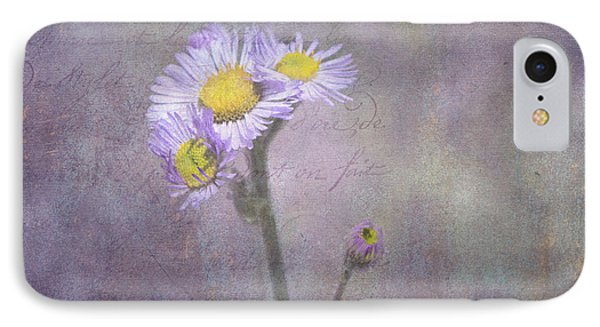 Wild Purple Aster  IPhone Case by Betty  Pauwels