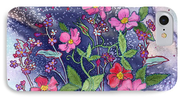 Wild Roses IPhone Case by Teresa Ascone