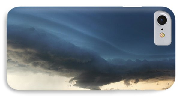 IPhone Case featuring the photograph Wild Shelf Cloud by Ryan Crouse