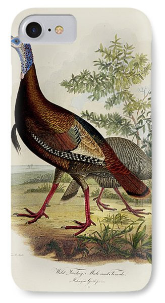Wild Turkey IPhone Case by British Library