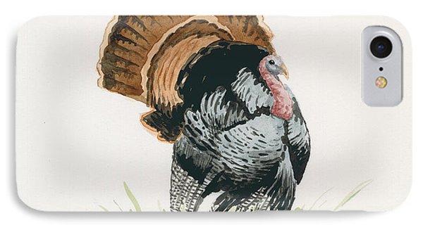 Wild Turkey IPhone Case