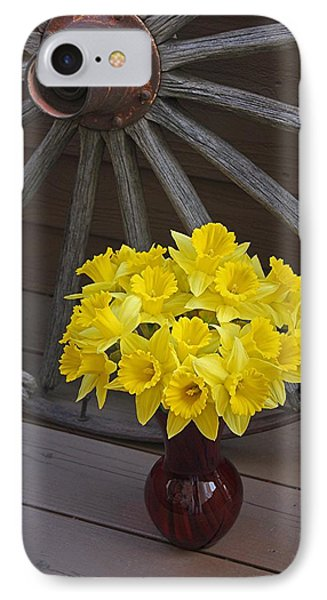 IPhone Case featuring the photograph Wild West Daffodils by Diane Alexander