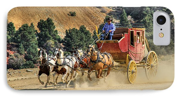 Wild West Ride 2 IPhone Case by Donna Kennedy