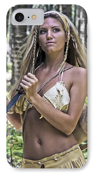 Wild Woman 3 Phone Case by Don Ewing