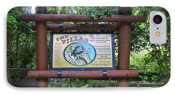 Wilderness Lodge Sign Phone Case by Thomas Woolworth