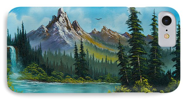 Wilderness Waterfall IPhone Case by C Steele