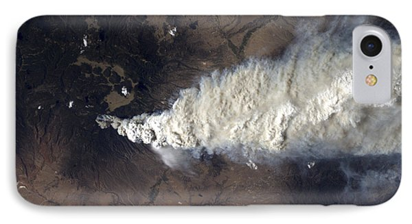 Wildfire In The Jemez Mountains IPhone Case