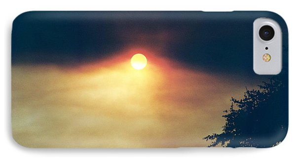 IPhone Case featuring the photograph Wildfire Smoky Sky by Kerri Mortenson