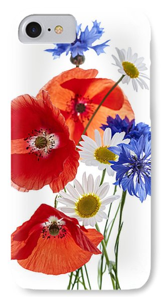 Wildflower Arrangement IPhone Case by Elena Elisseeva