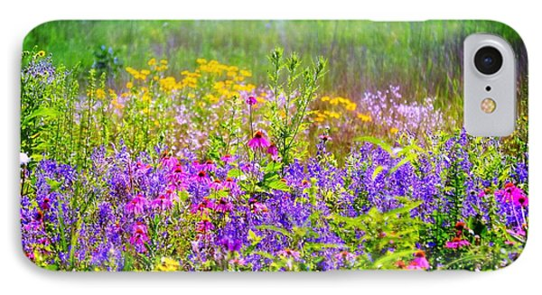 Wildflower Beauty  IPhone Case by Peggy Franz