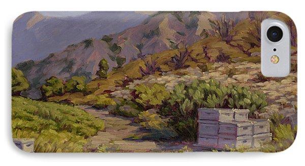 Wildflower Honey Fields IPhone Case by Jane Thorpe