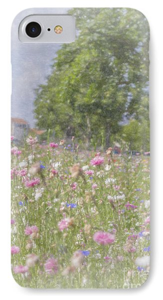 Wildflower Impressionism IPhone Case by Elaine Teague