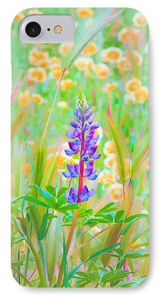 IPhone Case featuring the photograph Wildflower Meadow - Spring In Central California by Ram Vasudev