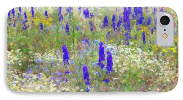 Wildflower Watercolour Phone Case by Tim Gainey