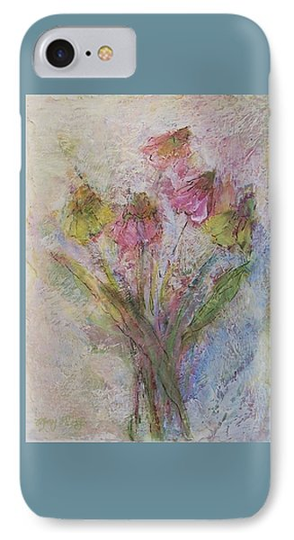IPhone Case featuring the painting Wildflowers 2 by Mary Wolf