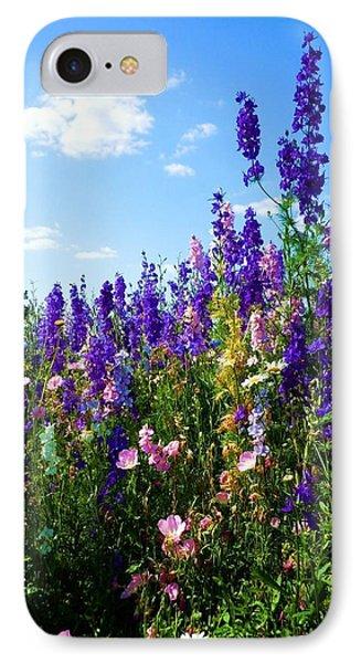 Wildflowers #9 IPhone Case