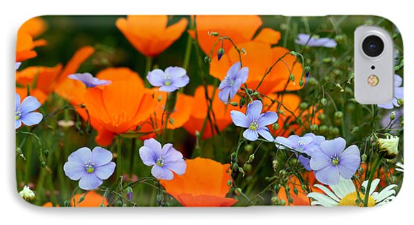 IPhone Case featuring the photograph Gabriella's Flowers by Lisa L Silva