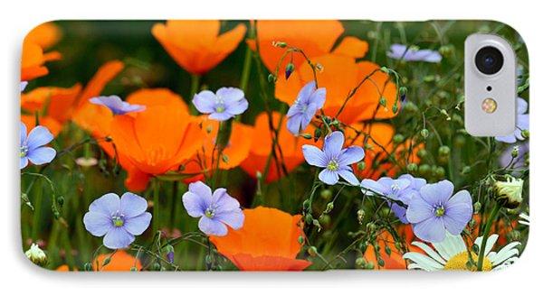 Gabriella's Flowers IPhone Case by Lisa L Silva
