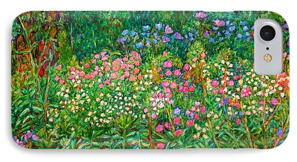 IPhone Case featuring the painting Wildflowers Near Fancy Gap by Kendall Kessler