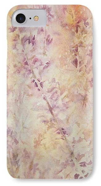 IPhone Case featuring the painting Wildflowers Three by Carolyn Rosenberger