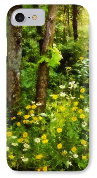 Wildflowers Two IPhone Case