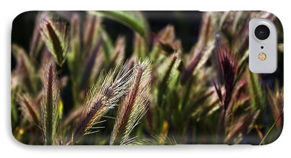 IPhone Case featuring the photograph Wildgrasses by Richard Stephen