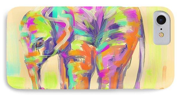 Wildlife Baby Elephant IPhone Case by Go Van Kampen