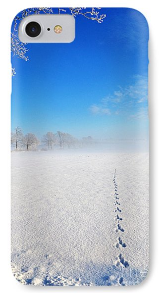 IPhone Case featuring the photograph Wildlife Tracks by Kennerth and Birgitta Kullman