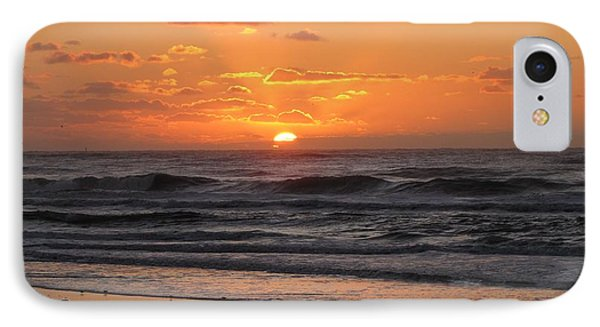 Wildwood Beach Here Comes The Sun IPhone Case by David Dehner