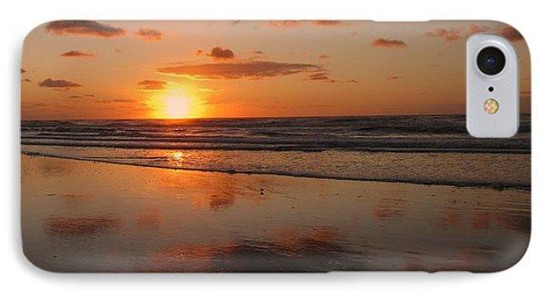 Wildwood Beach Sunrise IPhone Case by David Dehner