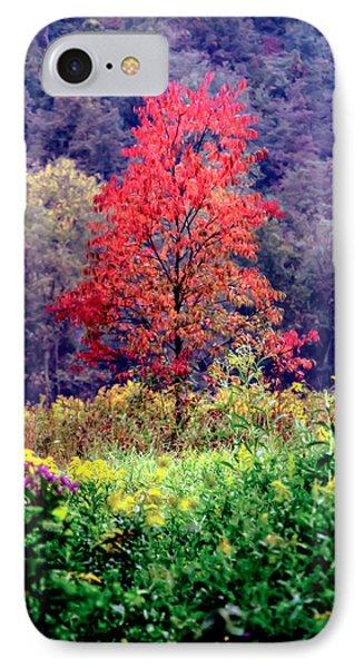 Wildwood Flowers Phone Case by Karen Wiles