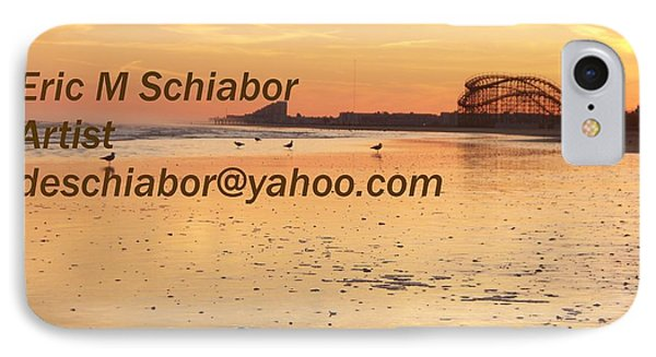 Wildwood Sunset Phone Case by Eric  Schiabor