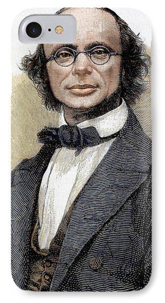 Wilhelm Eduard Weber (wittenberg, 1804 IPhone Case