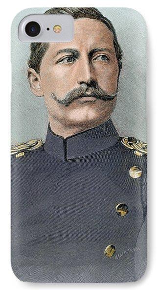 Wilhelm II Of Germany (potsdam IPhone Case by Prisma Archivo