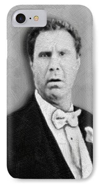 Will Ferrell Old School  IPhone Case by Tony Rubino