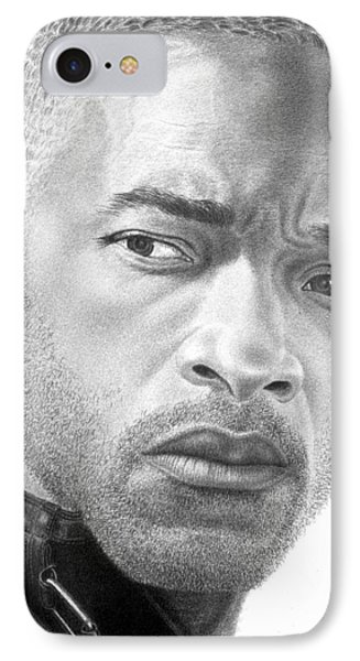 Will Smith Phone Case by Marvin Lee