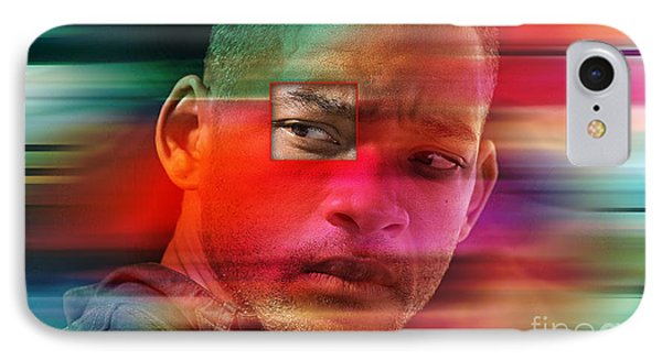 Will Smith Painting IPhone Case by Marvin Blaine