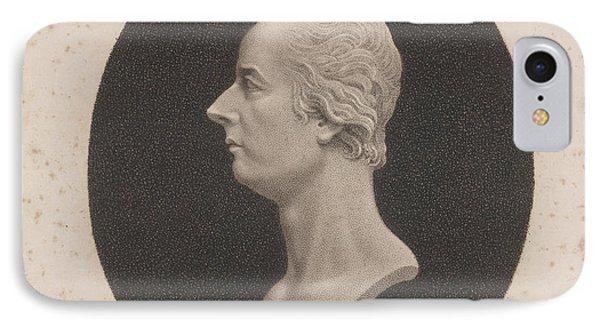 Willam Pitt IPhone Case by British Library