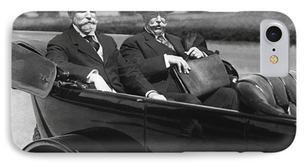 Willam Taft And Charles Hughes IPhone Case