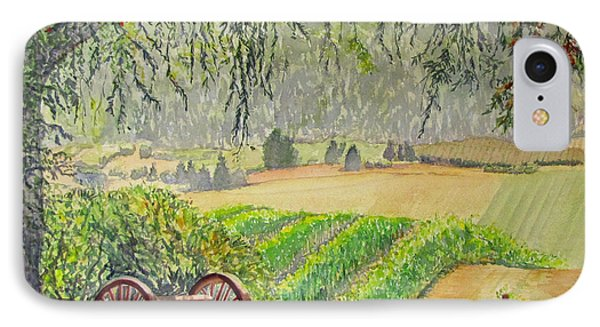 Willamette Valley Winery IPhone Case
