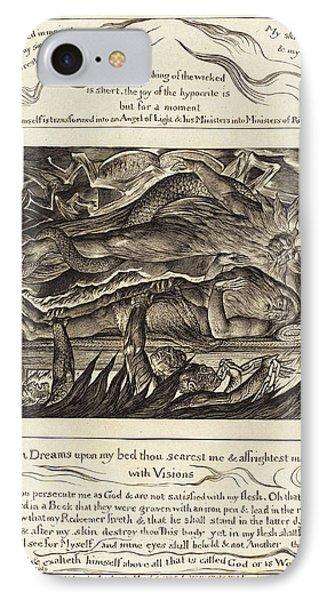 William Blake, British 1757-1827, Jobs Evil Dreams IPhone Case