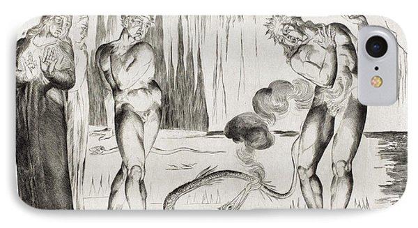 William Blake British, 1757 - 1827, The Circle IPhone Case